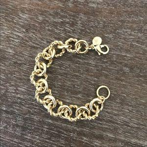 J crew gold bracelet